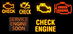Check Engine Light, Service Engine Soon Light